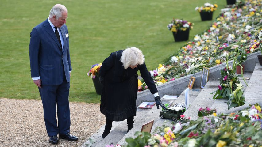 Prinz Charles und Herzogin Camilla in London im April 2021