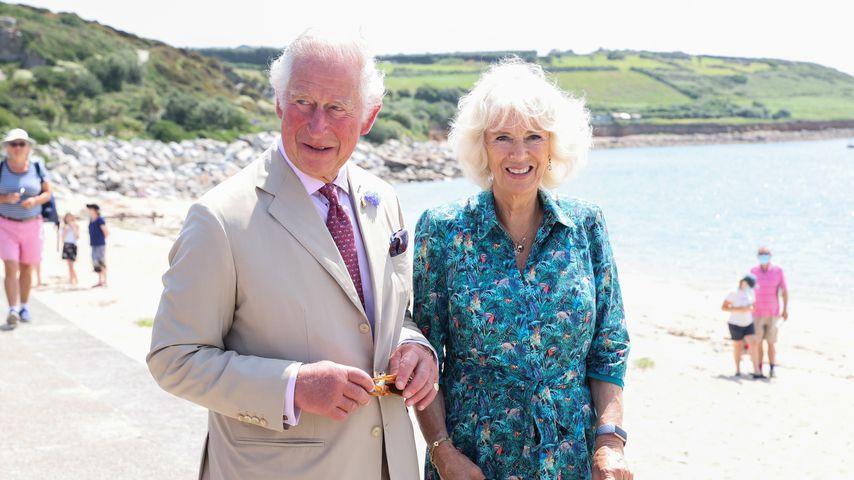 Prinz Charles und Herzogin Camilla in Cornwall, 2021