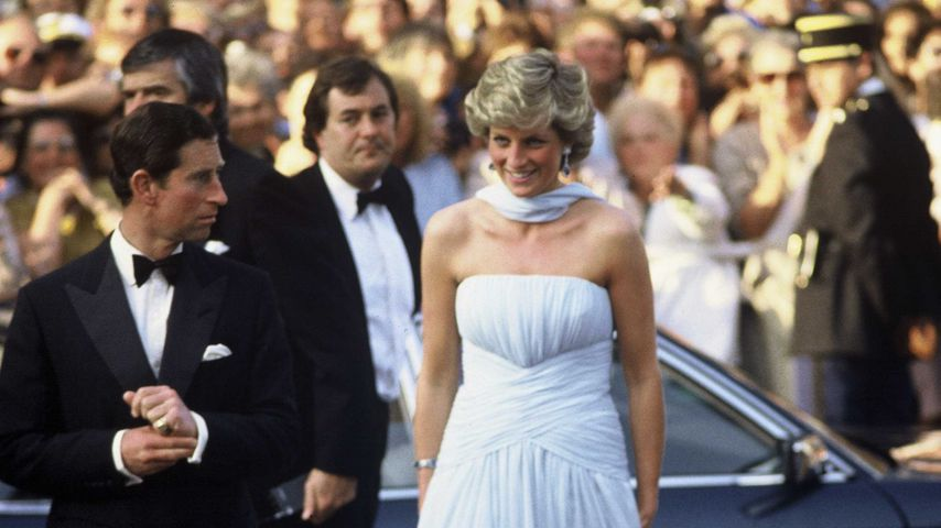 Prinz Charles und Prinzessin Diana in Cannes 1987