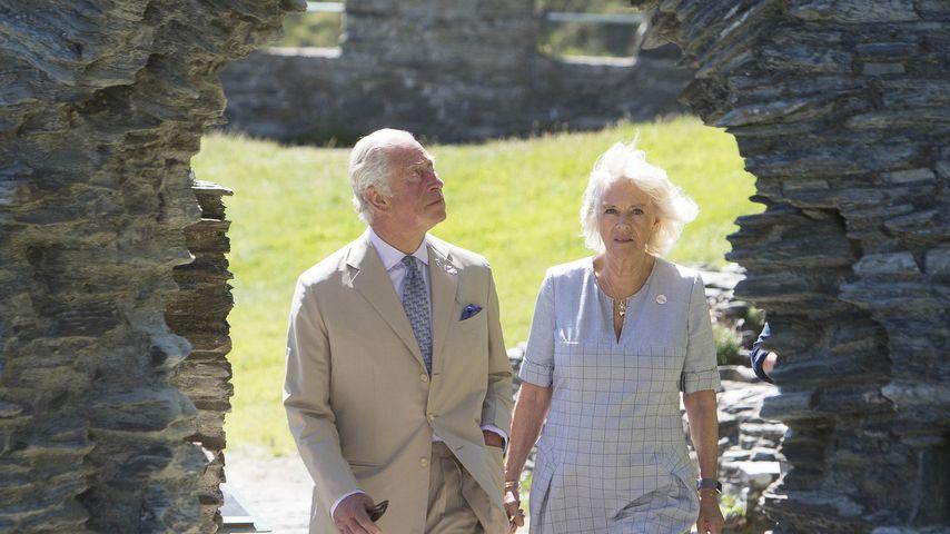 Prinz Charles und seine Frau Camilla in Cornwall im Juli 2020