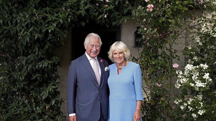 Prinz Charles und seine Ehefrau Camilla