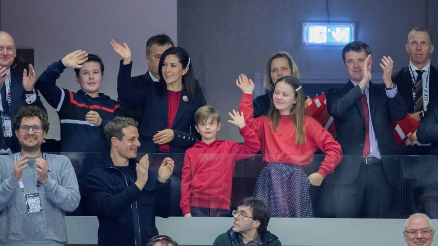 Mutter & Tocher: Mary & Isabella von Dänemark im Partnerlook