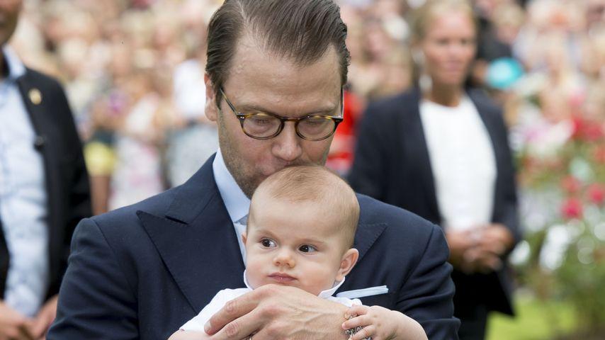 Prinz Daniel von Schweden und Prinz Oscar von Schweden in Öland