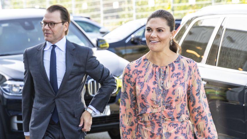 Prinz Daniel und Prinzessin Victoria in Stockholm, August 2020