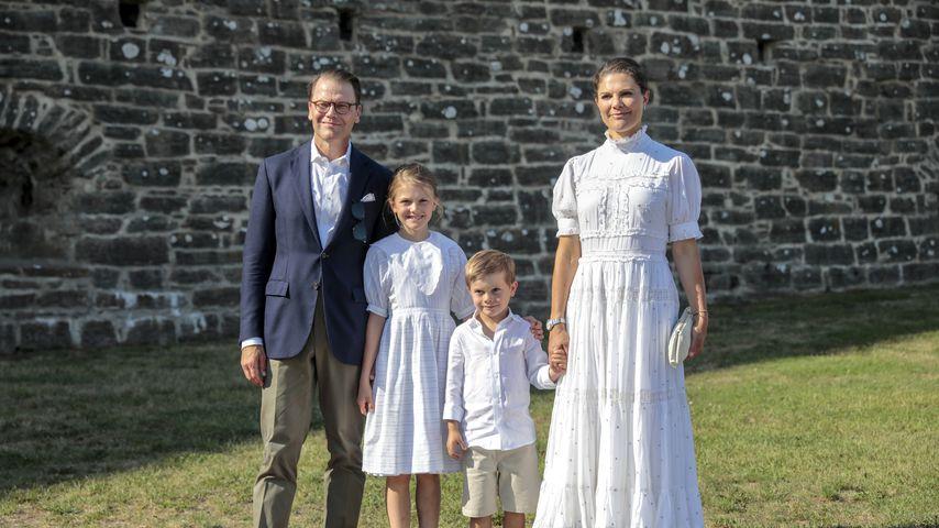 Zum Geburtstag von Victoria: Neue Fotos von Schweden-Royals