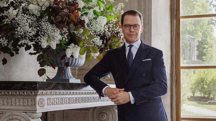 Prinz Daniel von Schweden im Pavillon Gustavs III. im Juni 2020