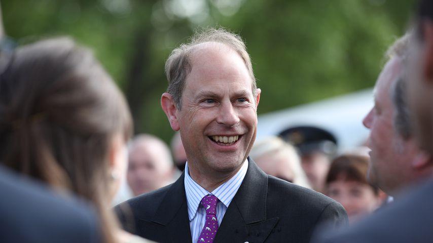 Prinz Edward im Mai 2019