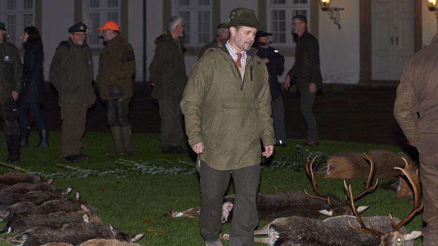 Prinz Frederik nach seiner jährlichen Jagd im November 2019