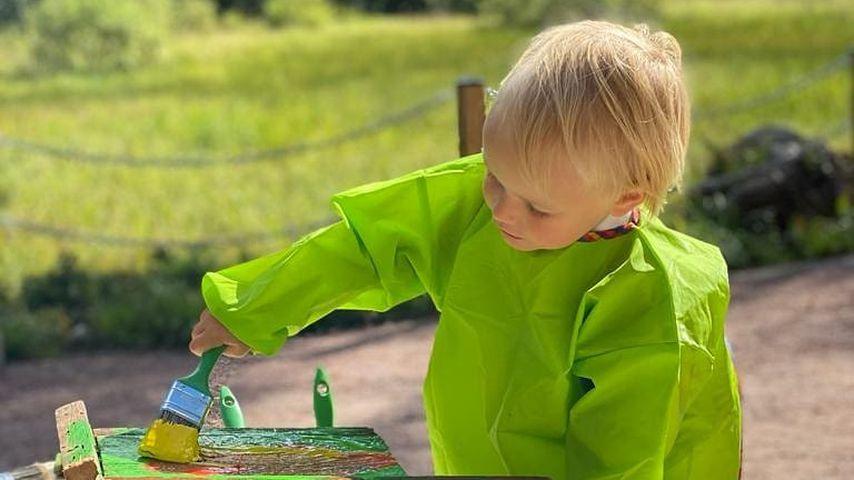 Kurz vor seinem 3. Geburtstag - Neue Fotos von Schweden-Prinz Gabriel