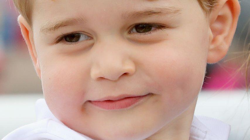 Wohlstands-Wampe: Prinz George hat zugenommen