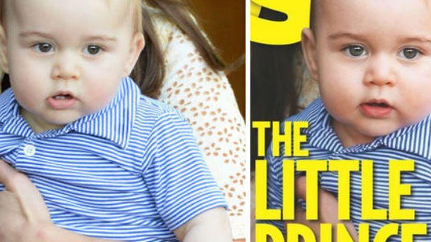 Photoshop? Prinz George für Cover nachgebräunt