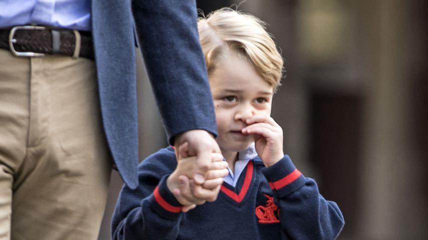 Schüchterner Prinz: Hier lernt George seine Lehrerin kennen