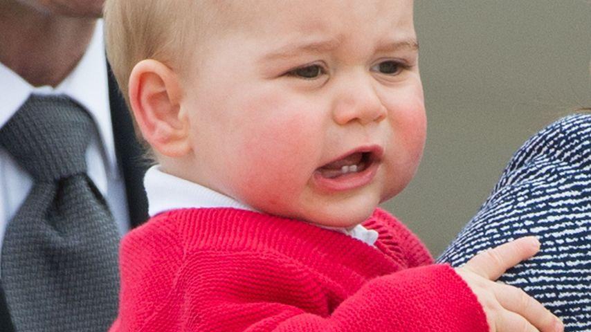 Was?! Prinz George (1) kassiert erstes Knöllchen