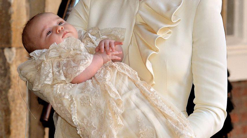 Seit 1841: Britische Royal-Babys tragen Traditions-Taufkleid