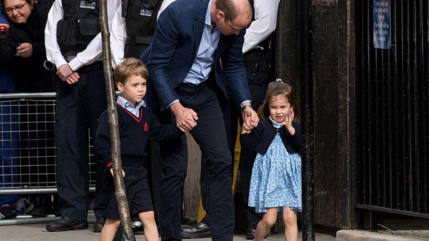 Prinz George, Prinz William und Prinzessin Charlotte
