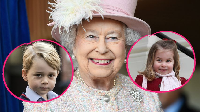 Charlotte & George: Die Queen verrät, wer auf wen aufpasst!