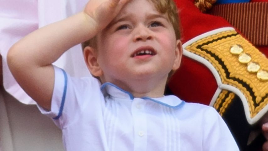 "Prinz George schaut bei der ""Trooping The Colour""-Parade zu"