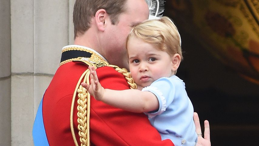 Armer Prinz George: Gar keine Lust auf Uromas Geburtstag?