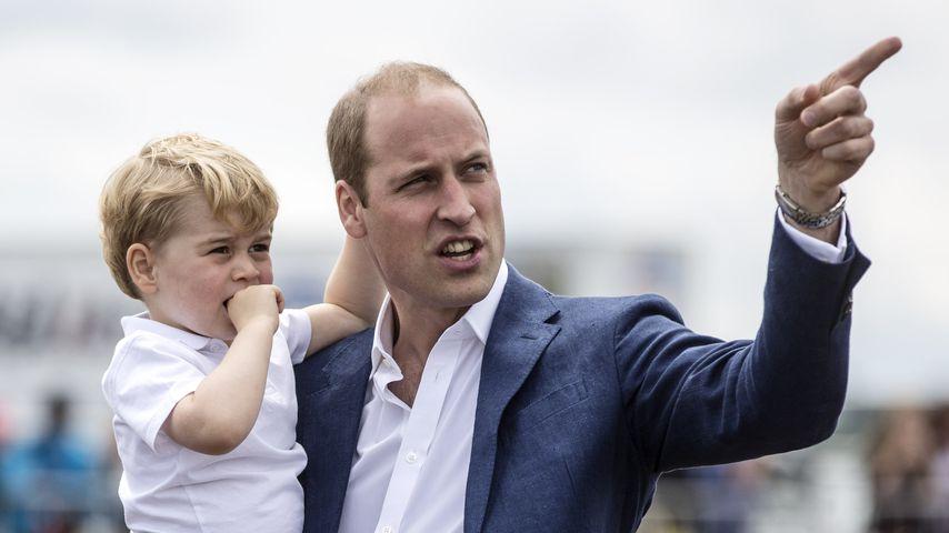 """""""Schlüpfrige Witze"""": Unangenehme Fragen von Prinz George (7)"""