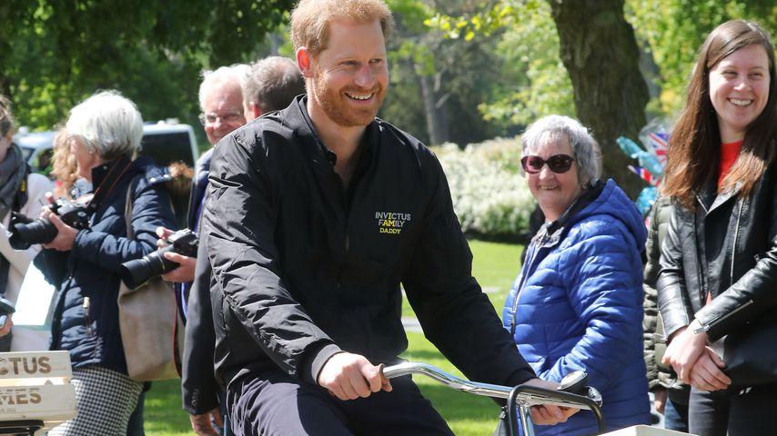 Trotz Baby Archie: Prinz Harry gerade in den Niederlanden