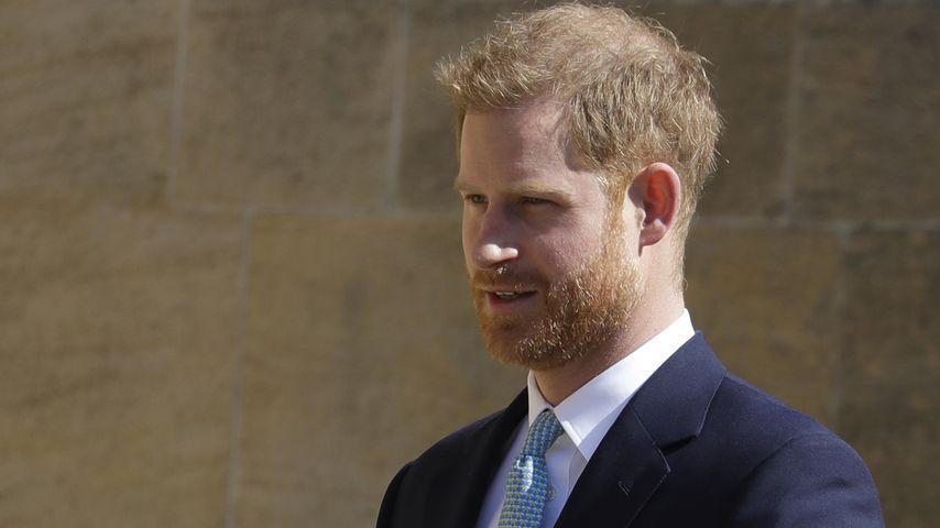 Prinz Harry am 21. April 2019 in Windsor