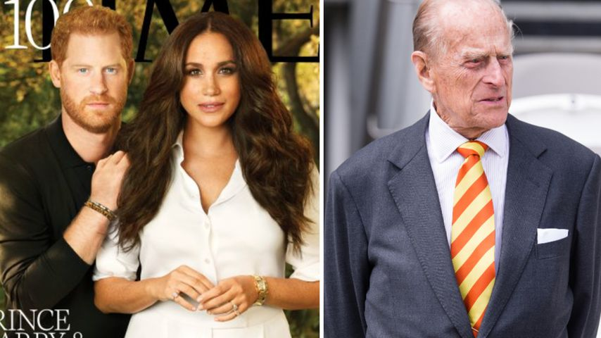 Meghan und Harrys Times-Cover: Versteckter Tribut an Philip
