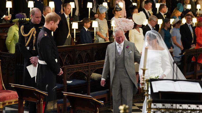 Prinz Harry, Prinz Charles und Meghan Markle