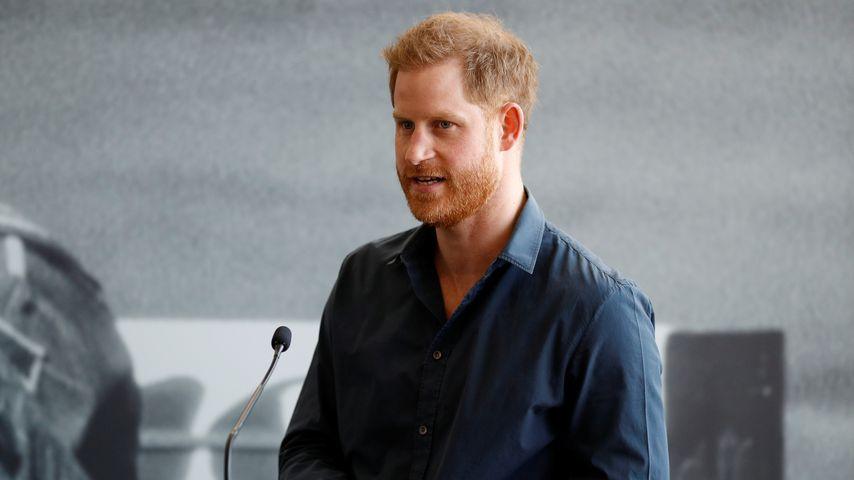 Prinz Harry im März 2020