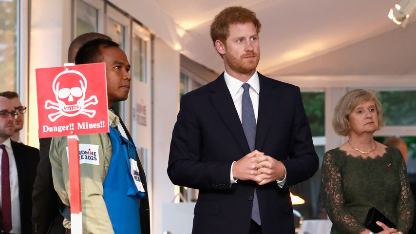 "Prinz Harry beim ""Landmine Free World 2025""-Event in London im April 2017"