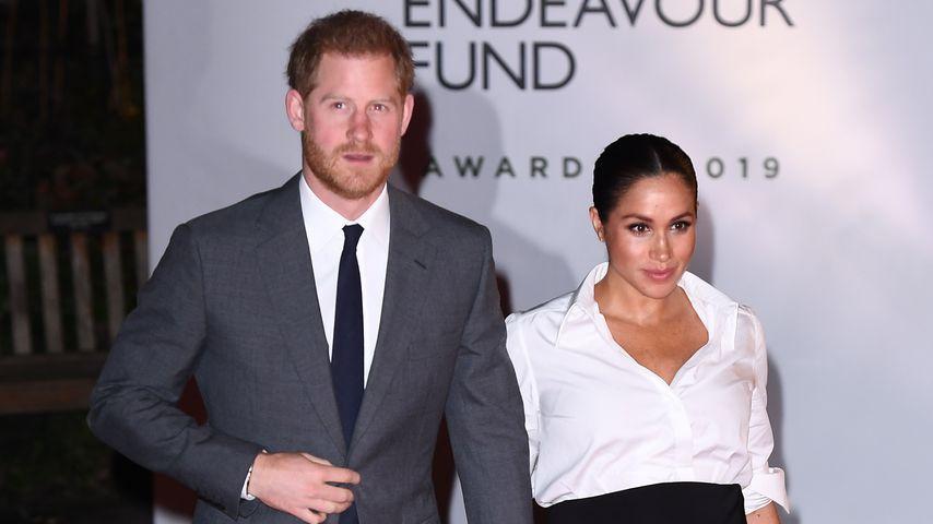 Prinz Harry und Herzogin Meghan im Februar 2019 in London