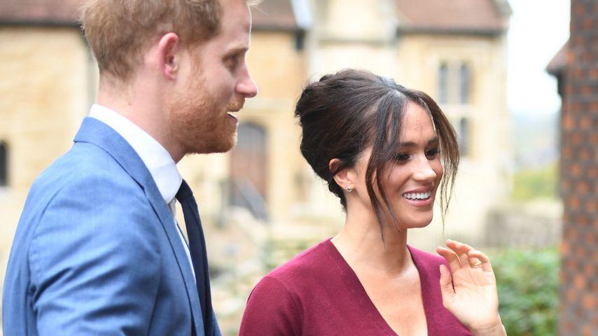 Prinz Harry und Herzogin Meghan im Oktober 2019