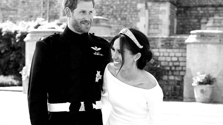 Meghan und Harry posten bisher unbekanntes Hochzeitspic!
