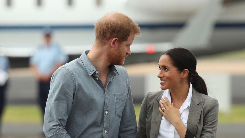 Prinz Harry und Herzogin Meghan auf ihrer Australienreise