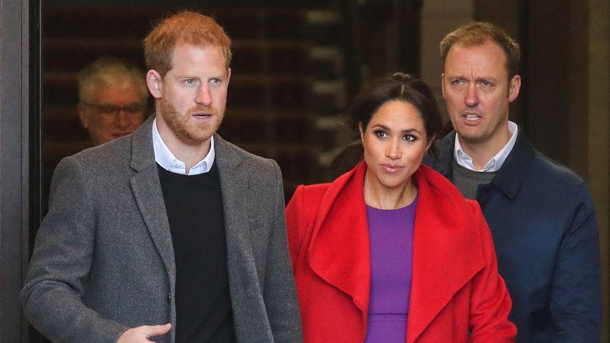 Prinz Harry & seine Meghan feiern den Valentinstag getrennt!
