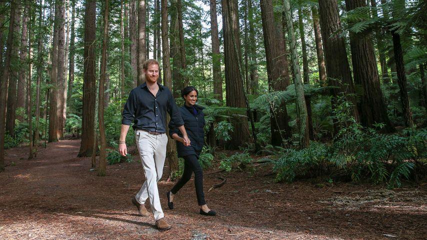 Prinz Harry und Herzogin Meghan in Neuseeland, 2018