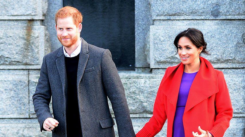 Prinz Harry und Herzogin Meghan in Birkenhead