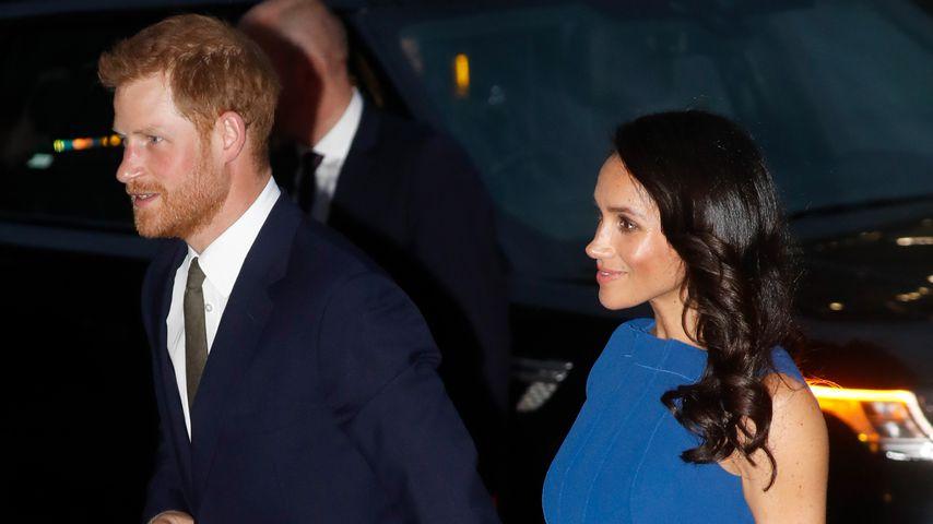 Prinz Harry und Herzogin Meghan auf einer Gala in London