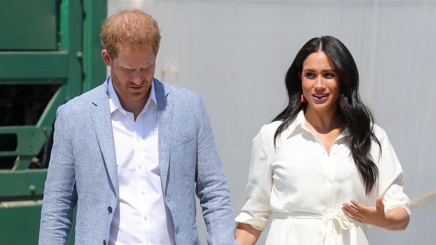 Prinz Harry und Herzogin Meghan Anfang Oktober 2019 in Johannesburg