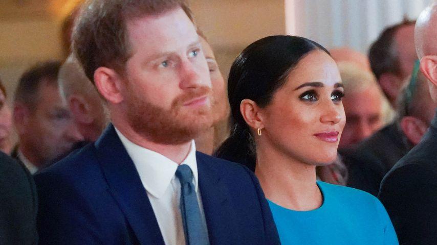 Prinz Harry und Herzogin Meghan bei den Endeavour Fund Awards in London im März 2020