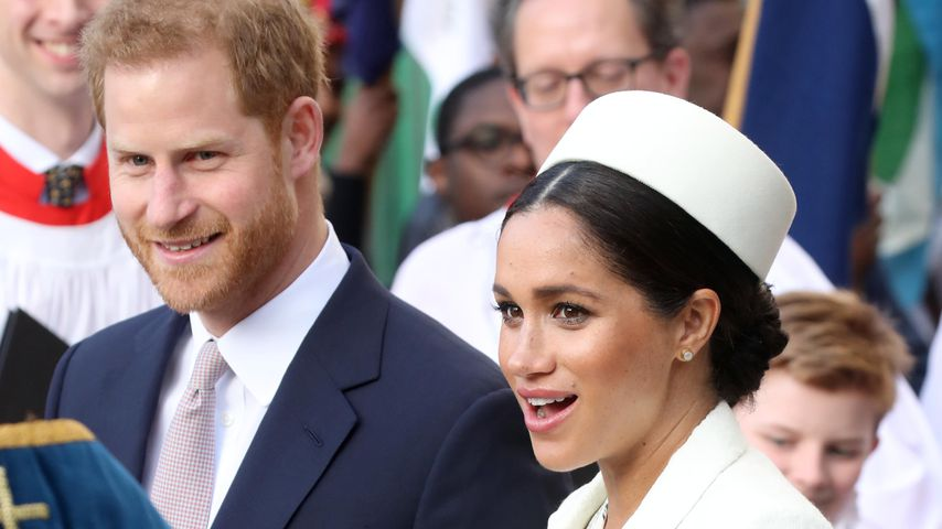 Verrät Website der Royals etwa den Namen von Baby Sussex?