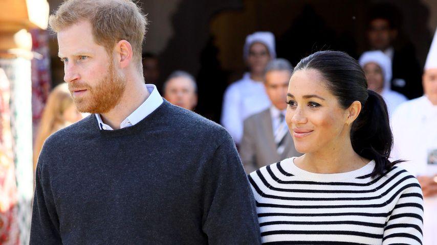 Prinz Harry und Herzogin Meghan, Marokko 2019