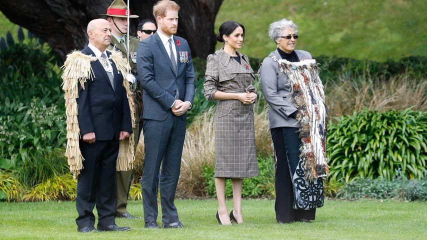Prinz Harry und Herzogin Meghan in Wellington, Neuseeland