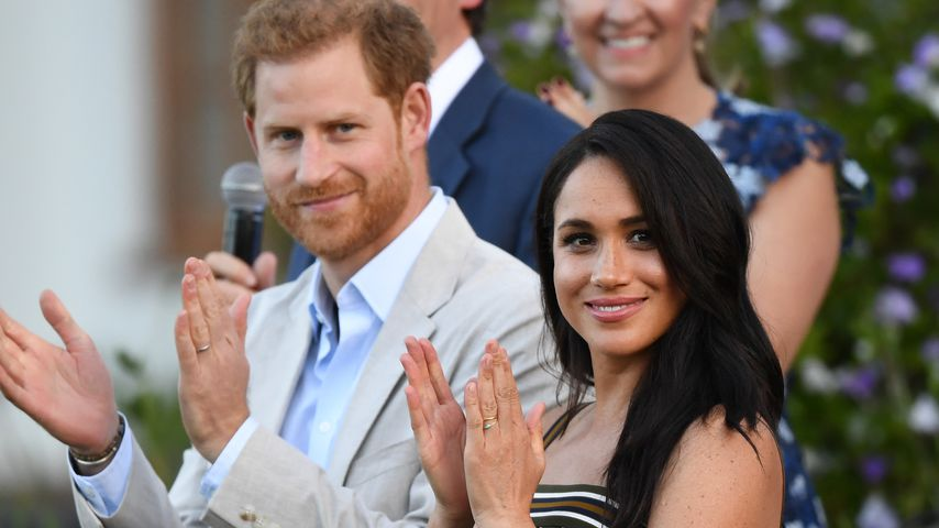 Prinz Harry und Herzogin Meghan in Kapstadt im September 2019