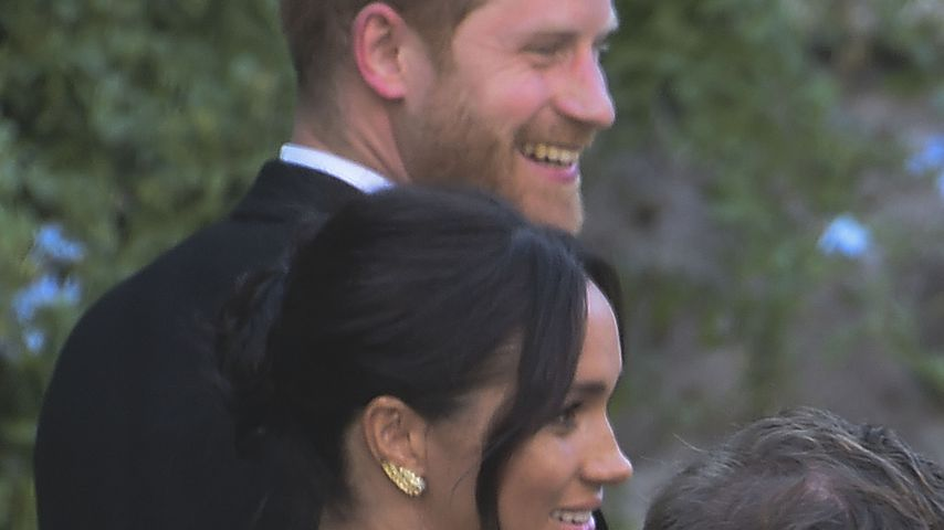 Auch Meghan & Harry: Misha Nonoos Hochzeitsgäste trudeln ein