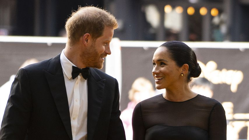 Prinz Harry und Herzogin Meghan im Juli 2019 in London