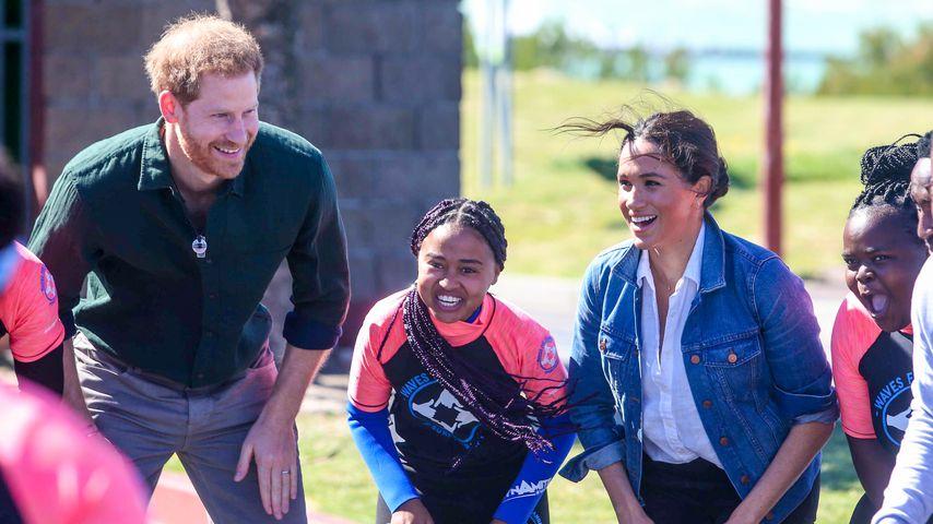 Prinz Harry und Herzogin Meghan bei ihrer Afrika-Reise