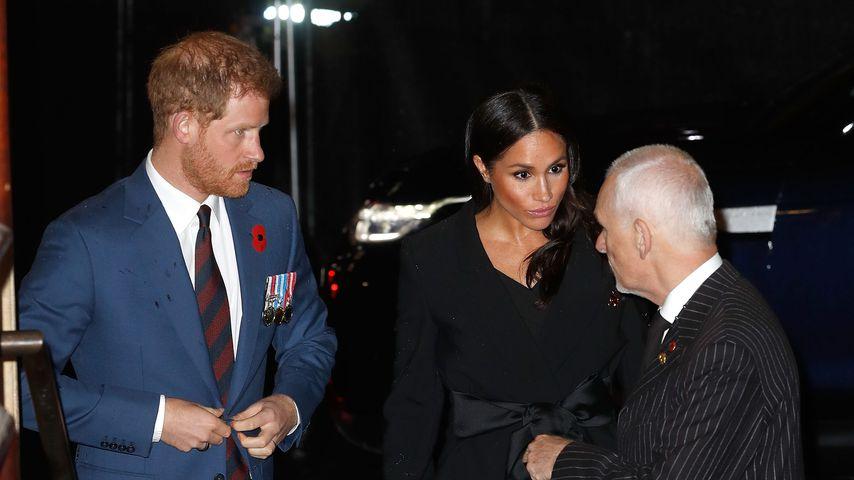 Prinz Harry und Herzogin Meghan in der Royal Albert Hall