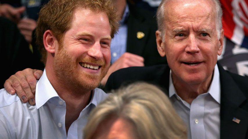 Gewusst? Prinz Harry und Joe Biden sind seit Jahren Freunde