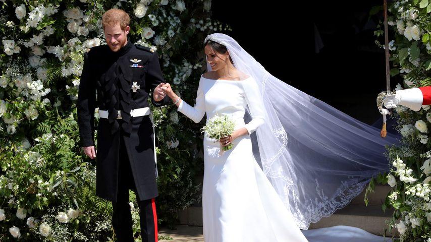 Prinz Harry und Meghan am Tag ihrer Hochzeit
