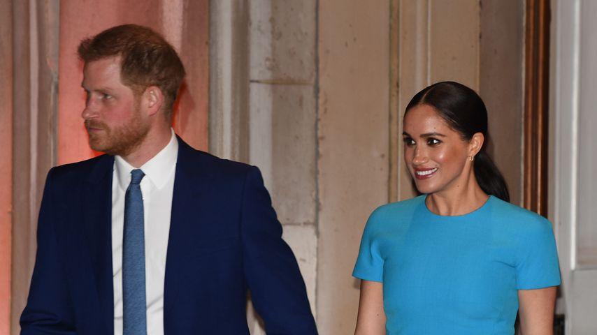 Prinz Harry und Herzogin Meghan in London, 2020